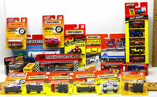 19 pc Matchbox Mixed Lot Off Road 4X4+Semi Trailers+Fire Engines+School Bus NOC