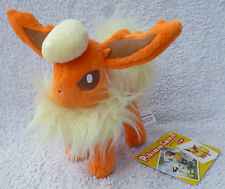 Official Pokemon Center 2009 Canvas Flareon Soft Plush Toy Doll MWMT Japan 6""