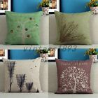 New Fashion Cotton Throw Pillow Cases Home Decorative Cushion Cover Square