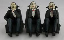 Nemesis Now 3 x EVIL VAMPIRE SHELF SITTER FIGURES SEE no HEAR no SPEAK no Gothic