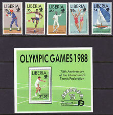 Liberia Scott # 1091-96 MNH Olympics Sports CV $10 Korea