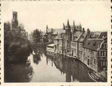 1939 photo card purchased while visiting bruges ! quai du rosaire