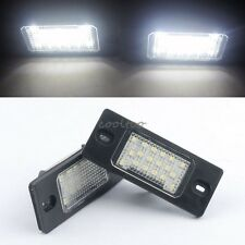 2X LED LICENSE PLATE LIGHT Lamps Replacement For Porshe Cayenne 2002~2010- white