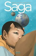 Saga Deluxe Edition Volume 1 HC [Hardcover – Deluxe Edit] by Brian K.Vaughan,ICB