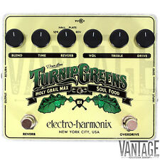 Electro-Harmonix Turnip Greens Overdrive & Reverb ( Soul Food & Holy Grail Max )