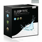 Sleep Tite Queen Size Mattress Protector by Malouf Fine Linens