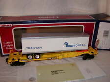Williams by Bachmann 48402 Flat Car Front Runner with Trailer Conrail O MIB New