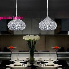1 Light NEW Modern Elegant LED Crystal pendant Lamp Kitchen Bar ceiling Lighting