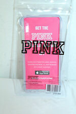 Pink By Victoria's Secret NEW Soft Rubber iPhone 6 & 6S Case Nwt Clear,Blue
