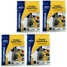 4 x Zanussi Universal Cooker Hood Extractor Grease Filter 114 x 47cm Cut To Size