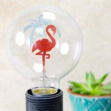 Flamingo Filament Decorative Light Bulb Bird Night Globe Lightbulb Pink Green