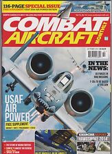 COMBAT AIRCRAFT MONTHLY OCT 2014, FREE SUPPLEMENT: USAF 2014 AIR POWER REVIEW.