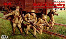 BRITISH INFANTRY 1917-1918 (WW I) 1/35 ICM