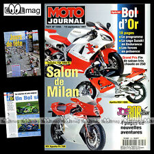 MOTO JOURNAL N°1293 MV AGUSTA F4 HONDA VTR 1000 YAMAHA YZ 400 M APRILIA RSV 1000