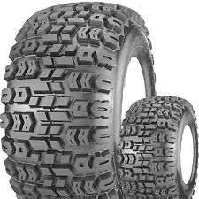 2) 24X12.00-12 24/12.00-12 Kenda K502 Terra Trac Lawn Mower golf cart TIRE 4ply