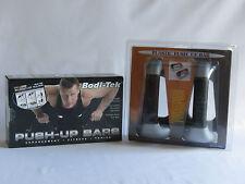 Bodi-Tek Push-up Bar and Plastic Push-up Bar - 2 Sets £12.99