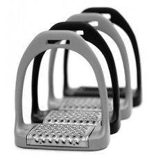 "Royal Rider Jump 25 Classic Lightweight Stirrups GREY 4.75"" +Worldwide Shipping"