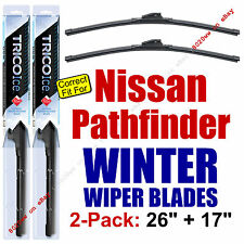 WINTER Wiper Blades 2-Pack Premium - fit 2013-2016 Nissan Pathfinder - 35260/170