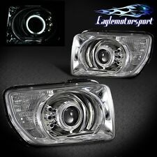 [CCFL Halo] 2003 2004 2005 2006 2007 2008 Honda Element Projector Headlights Set