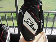 Titleist Cart Golf Bag  Red, Black and White Used in EXCELLENT Condition