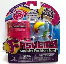 My Little Pony Fashems RAINBOW DASH Series 3 Super Squishy Fun With Case New