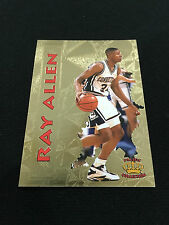 RAY ALLEN ROOKIE INSERT COLLEGE UCONN 1997 PACIFIC COLLECTION RC BASKETBALL CARD