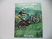 advertising Pubblicità 1975 MOTO DUCATI 125 REGOLARITA'