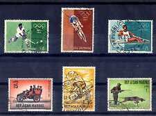 SAN MARINO - 1960-1963 - Giochi olimpici di Roma, automobili, sport invernaE2133