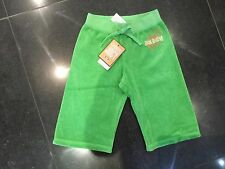 NWT Juicy Couture New & Gen. Girls Age 4 Green Cotton Crop Leg Pants With Logo