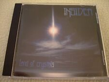 INSIDER - Land of Crystals CD Dolmen Records 1998 NM Italian Space Rock