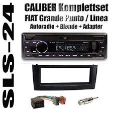 FIAT GRANDE PUNTO/LINEA Radio USB SD adattatore ISO antenna Mascherina Adattatore Nero