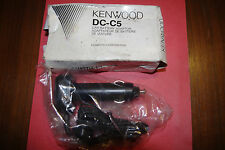 KENWOOD DC 5 12 VOLT CAR CHARGER FOR MANY KENWOOD PORTABLE STEREO'S