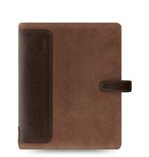 Filofax Holborn Nubuck Organizer/Planner A5 Brown Leather - 17-026041 - New Item