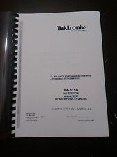 TEKTRONIX AA501A INSTRUCTION MANUAL