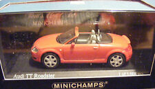 Audi TT Roadster, Red 1999 Road Cars, Minichamps 430017237  Diecast  1/43