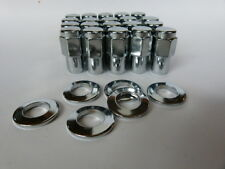 "20 X 7/16"" HOLDEN THREAD.CRAGAR SS UNI LUG MAG WHEEL NUTS & 20 WASHERS."