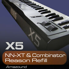 KORG X5 REASON REFILL SAMPLES for the NNXT & COMBINATOR