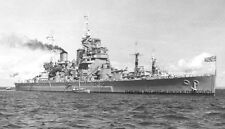 ROYAL NAVY BATTLESHIP HMS DUKE OF YORK IN TOKYO BAY FOR JAPANESE SURRENDER 1945