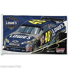 Nascar Jimmie Johnson # 48 Wincraft 3' X 5' Flag w/ D-Rings NEW!