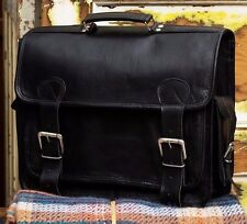 Large Black Handmade Genuine Leather Camera Photography Bag (RRP £98.99)