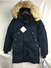 NEW NOBIS YATESY PARKA COAT MEN DOWN NAVY CROSSHATCH XS XSMALL JACKET COYOTE