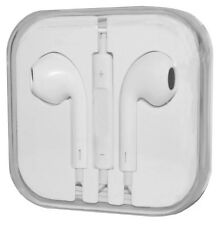 NEW White Earbuds for Apple iPhone 6 6+ 5S 5 4S Remote&Mic Headphone Earphones