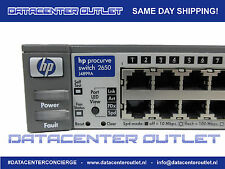 HP J4899A ProCurve 2650 - Managed Switch - 48x10/100p - 2xDP - USED