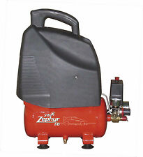 SWP Zephyr 6ltr Compresor De Aire, Direct Drive 1hp Ideal para uso móvil.