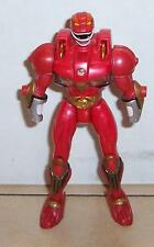 Power Rangers Wild Force RED action figure lion blaster (2001) Bandai