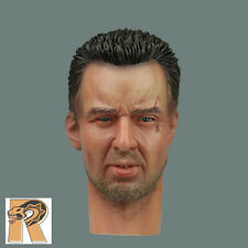 DID60047 - Caucasian Head (w/ Scar) #2 - 1/6 Scale - DID Action Figures