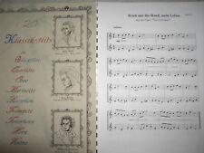 Noten - 20 Klassik-Hits für Klarinette - zweistimmig