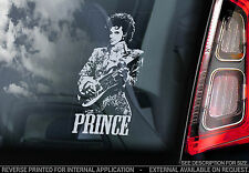 Prince - Car Window Sticker - Sign Art Gift 1999 TAFKAP Purple One Rain