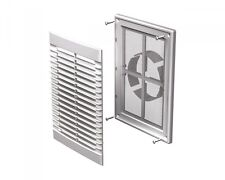 Air Vent Grille Cover 250x180mm WHITE Ventilation Grill100-150mmVent (MV126VDS)