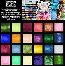 24-pk ColourArte Twinkling H2O's KIT #2457 Watercolor Paint - Wild Wood